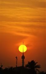 Tower sunset II