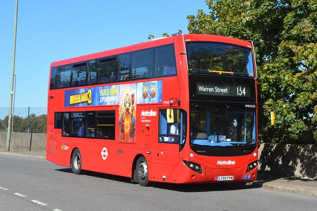 LF68 PXM (VMH2535) Metroline London