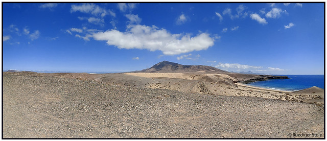 Panorama Playa Blanca, Yaiza, Lanzarote, Canary Islands, Spain