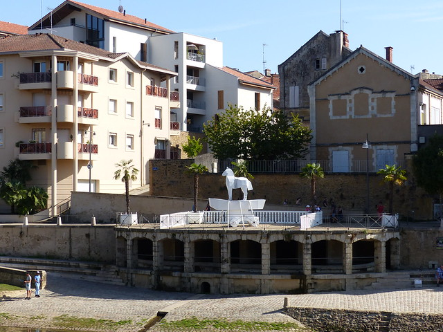 Mont de Marsan sculptures 11, les Mythes.