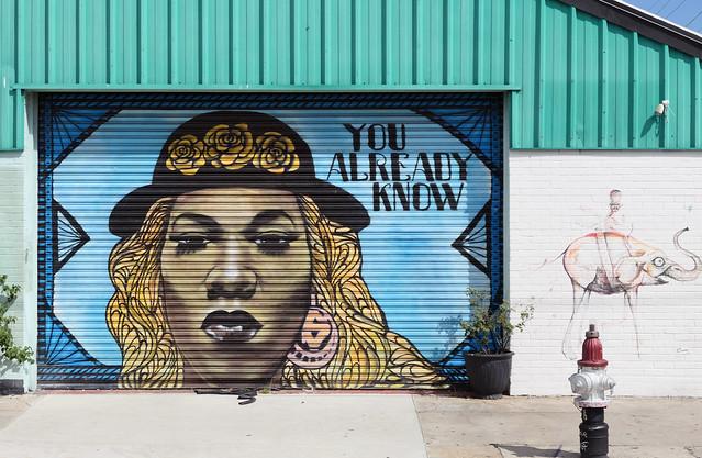 Mural N Rampant St New Orleans.