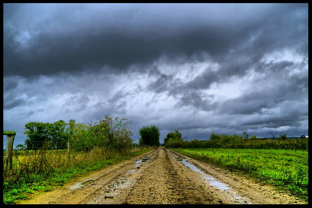 always straight ahead