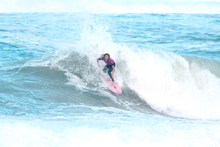 Stephanie Gilmore at the WSL RoxyPro 2019