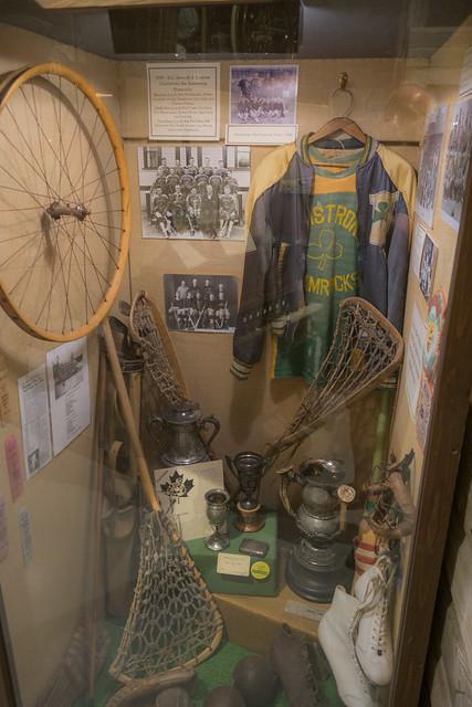 Antique sports equipment