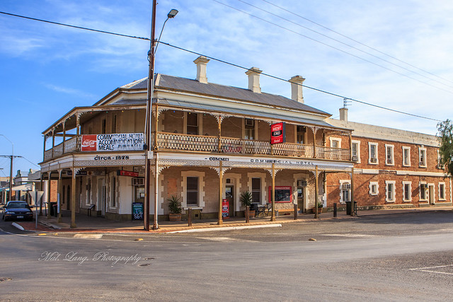 Commercial Hotel... Gladstone South Australia.