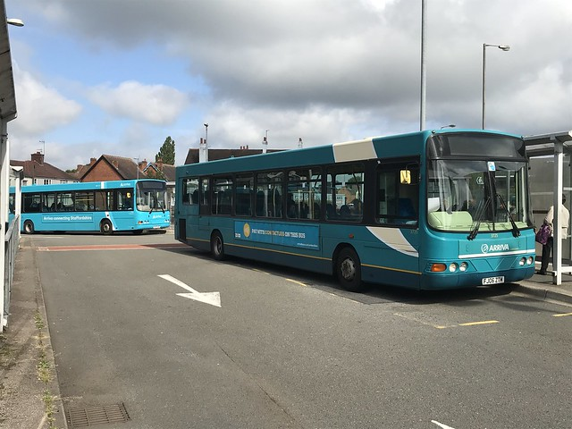 AMN 3726 and 3740 @ Cannock bus station
