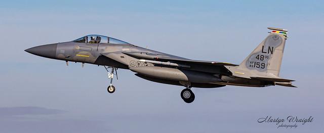 USAFE F15C Eagle