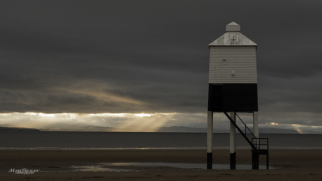Low tide at Burnham-on-sea