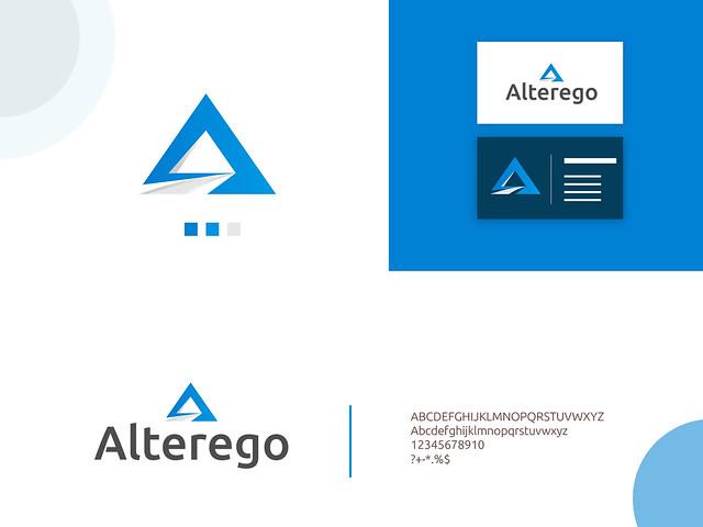 A latter logo concept