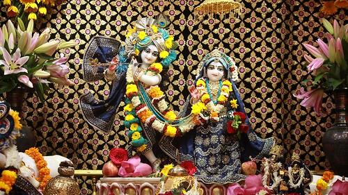 ISKCON Punjabi Bagh Deity Darshan 14 Oct 2019
