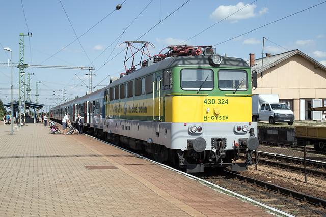 GySEV 430 324 Veszprém