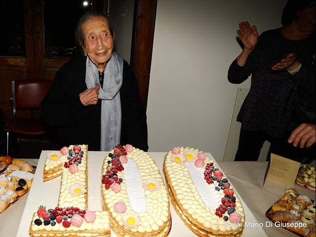 centenario nonna Lucia Antonicelli