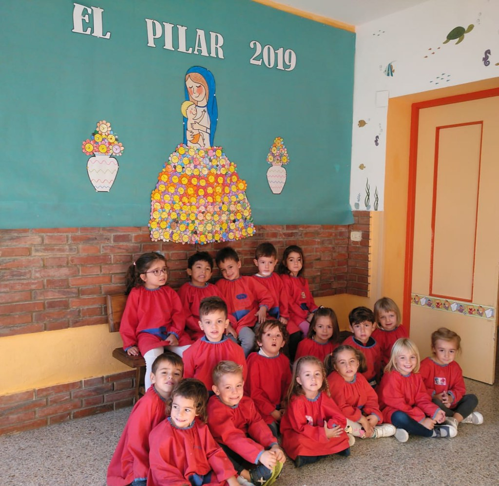 Celebración del PIlar en el Colegio Las Viñas 2019
