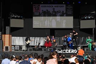 CERO, Jornada familiar, KIDS ROCK HISTORY