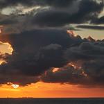 19. September 2017 - 18:45 - North Sea  sunset