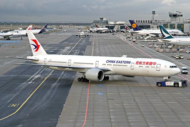 China Eastern Boeing 777-39P(ER) B-7347 FRA 02-10-19