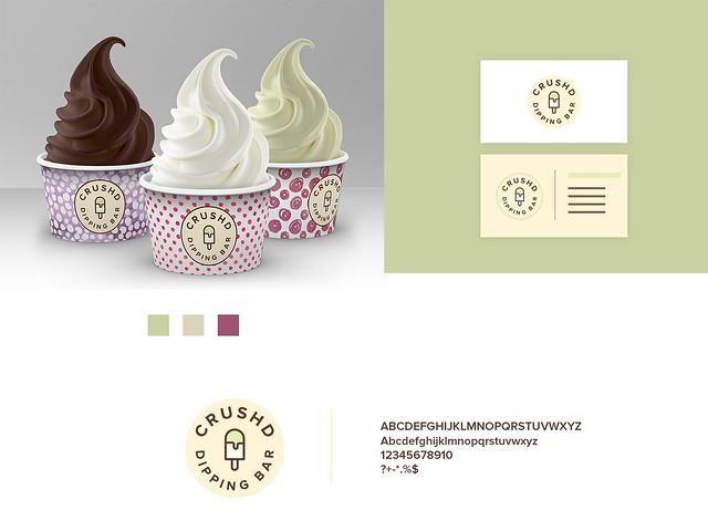 Ice Cream logo concept