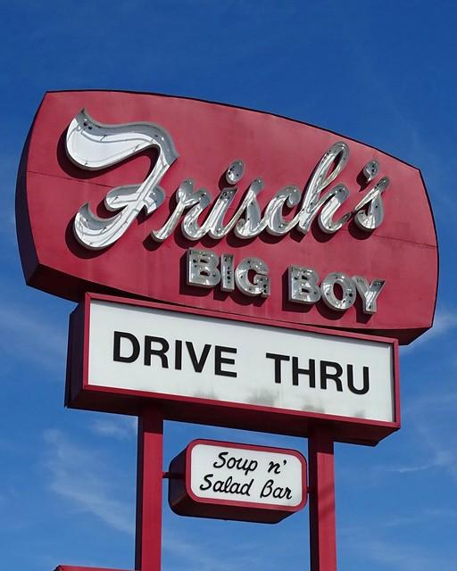 KY, Richmond-U.S. 25 Frisch's Big Boy Neon Sign