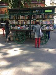 Mobile Bookshop, Budapest