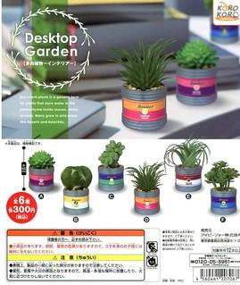 真‧絕對不會失敗的多肉植物照顧方法!KOROKORO Desktop Garden 多肉植物轉蛋( デスクトップ ガーデン)比懶人植物還更懶!
