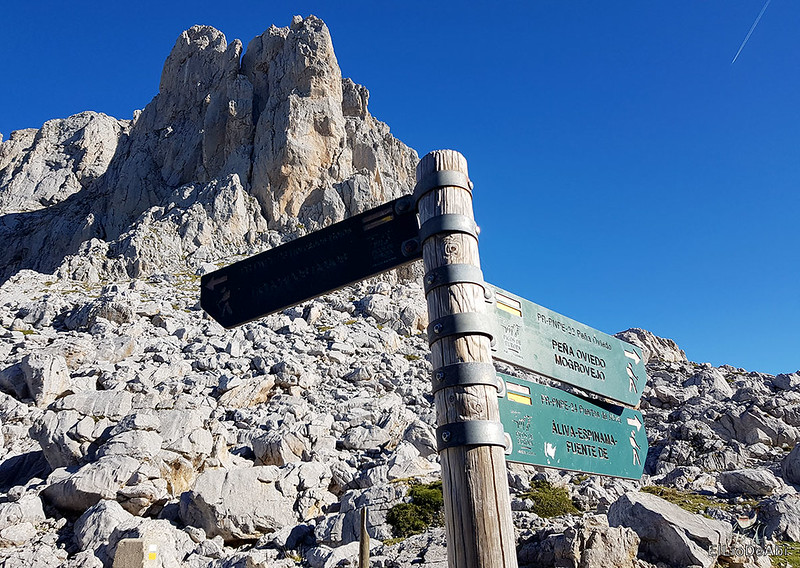 Echando la mañana en los Picos de Europa en la zona de Fuente Dé (7)