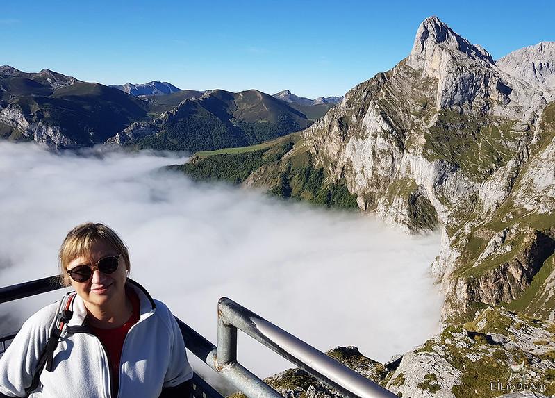 Echando la mañana en los Picos de Europa en la zona de Fuente Dé (4)