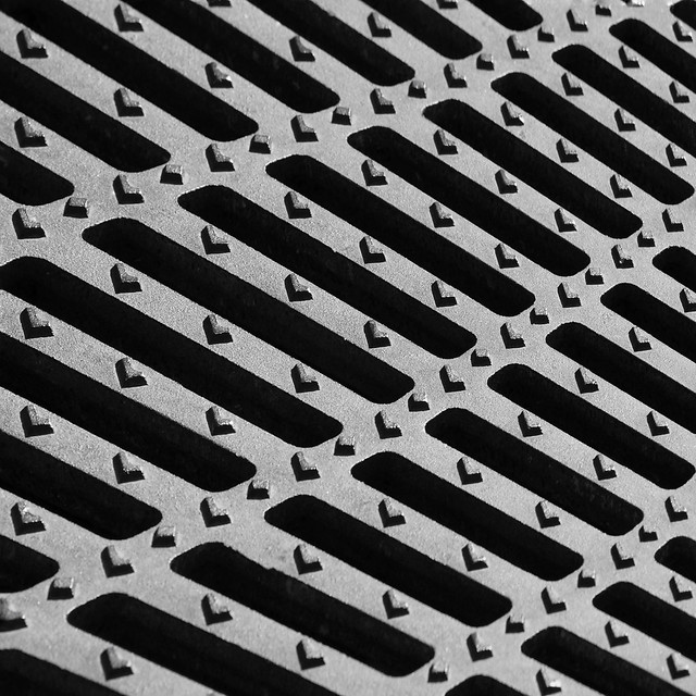Grate Abstract