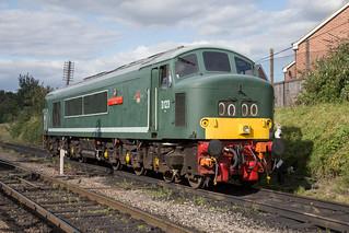 Class 45 D123 Loughborough Central