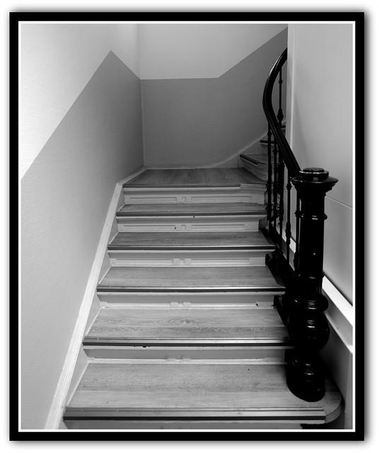 Kurze Treppe...