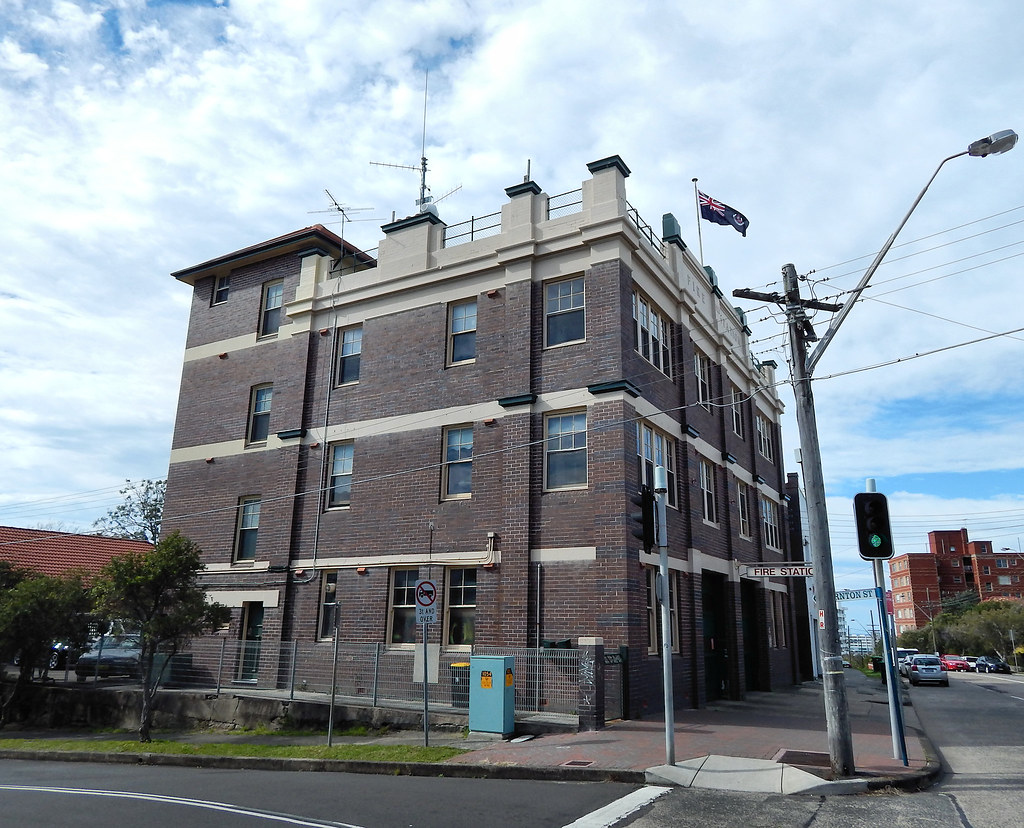 Fire Station, Fairlight, Sydney, NSW.
