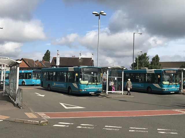 AMN 3725, 3740 and 3719 @ Cannock bus station