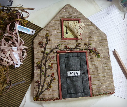 WIP: textile book like a house