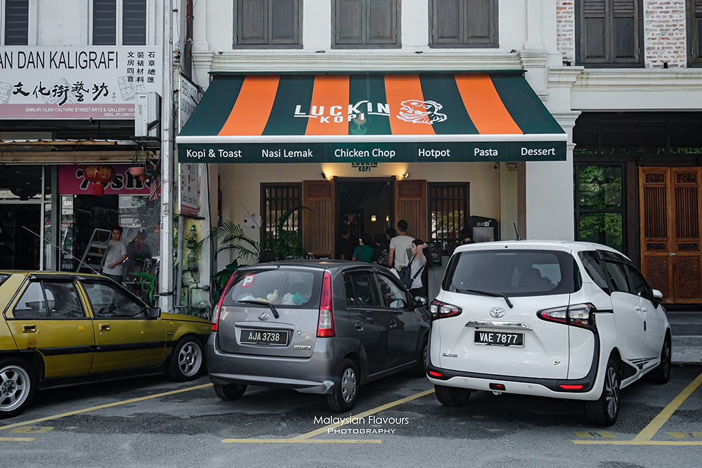 Luckin Kopi Jalan Panggong KL