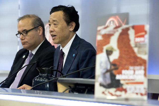 Launch of the State of Food and Agriculture report - SOFA 2019