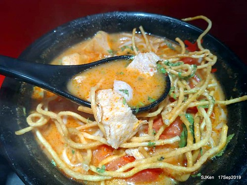 Thai foods restaurant at Taipei, Taiwan, SJKen , Sep 17, 2019