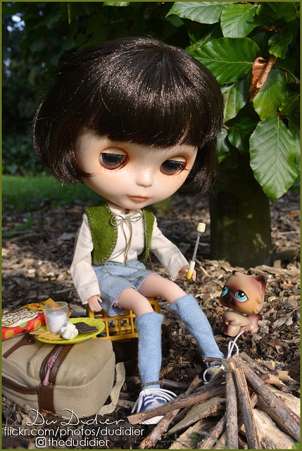 Guess who forgot to bring the matches? //S'mores (for Blythe a Day Oct-14-2019 )