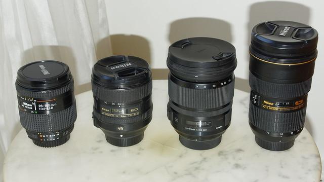 Objectifs zooms pour Nikon