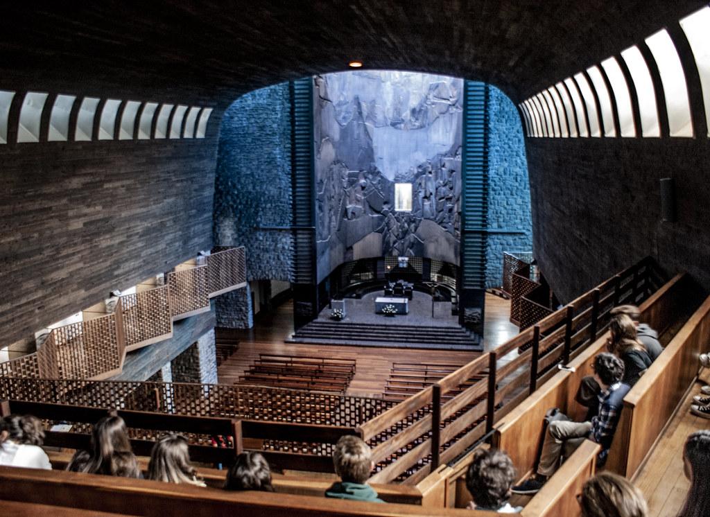 Visita a Arantzazu. 1º Arquitectura. Universidad de Navarra. 2019-20