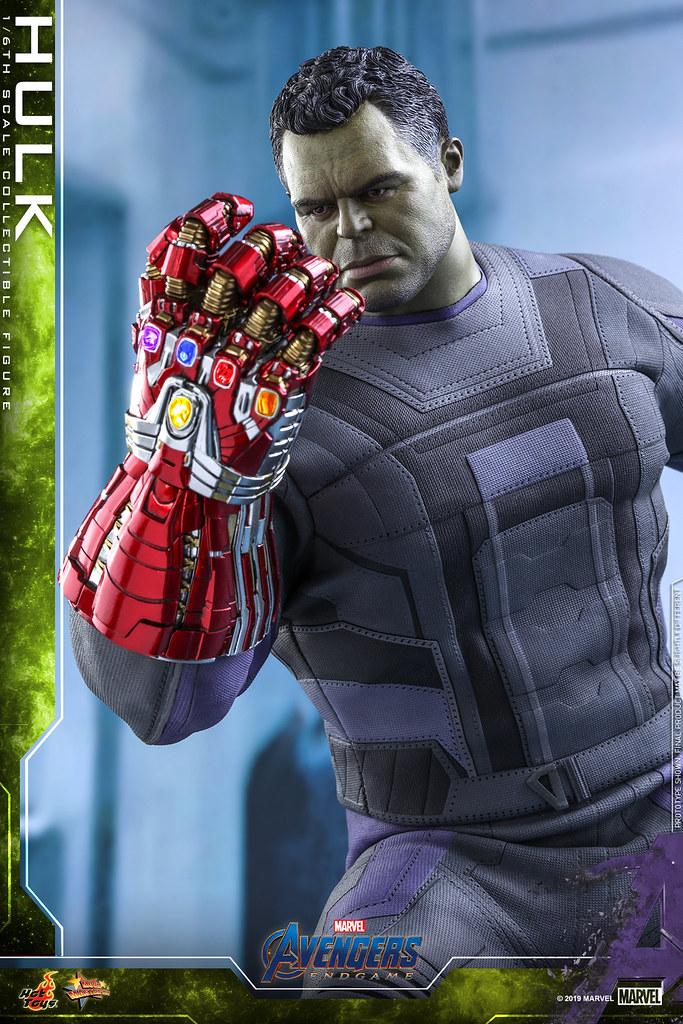 再現浩克彈指姿態! Hot Toys – MMS558 -《復仇者聯盟:終局之戰》浩克 Hulk 1/6 比例人偶作品