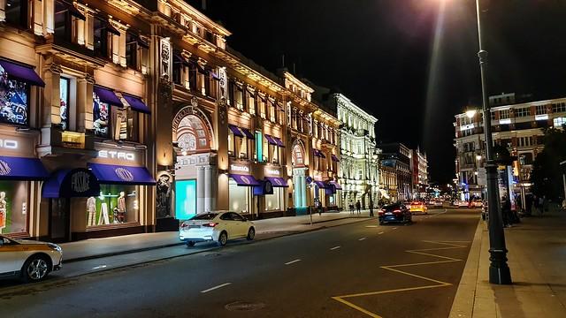 Moscú de noche - Moscow by night