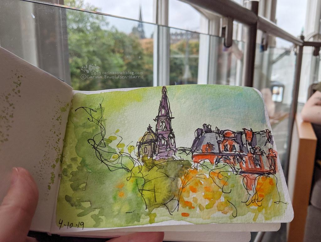 St Cuthbert sketch