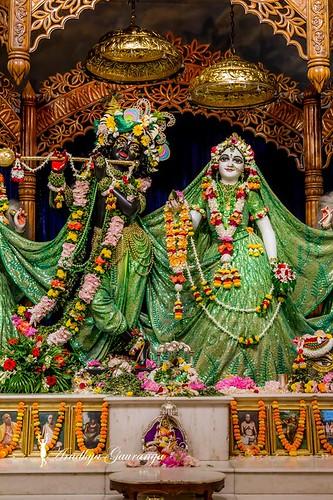 ISKCON Mayapur Deity Darshan 14 Oct 2019