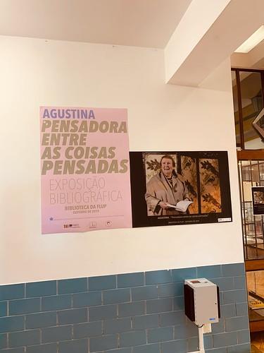 Exposição Bibliográfica   AGUSTINA: