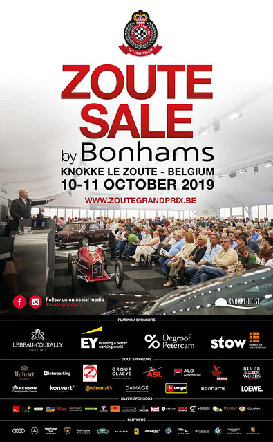 Zoute Grand Prix 2019 - Sale by Bonhams