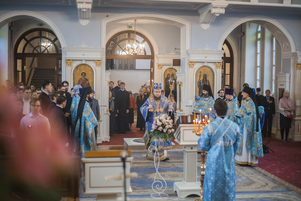 14 октября 2019, Покров Пресвятой Богородицы / 14 October 2019,the Protection of Our Most Holy Lady the Theotokos and Ever-Virgin Mary
