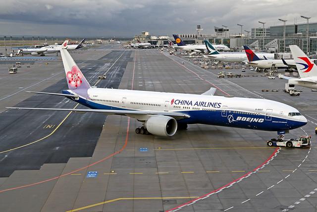 China Airlines Boeing 777-309(ER) B-18007 FRA 02-10-19
