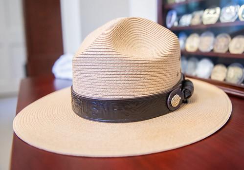 National Park Service hat.