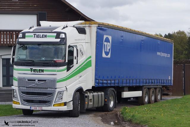 Volvo FH IV - Tıelen Transport - Belçika