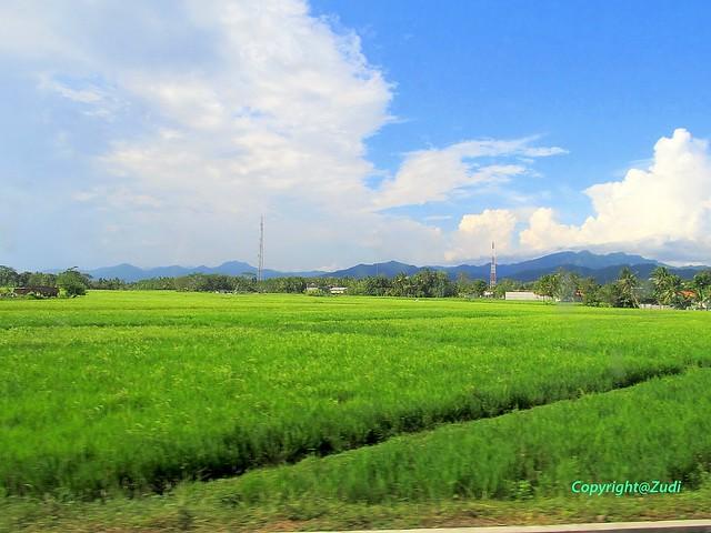 Beautiful village view