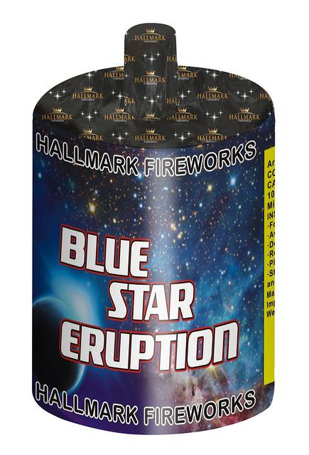Blue Star Eruption Mine by Hallmark Fireworks